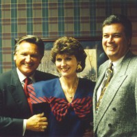 Ron & Kaye with Dr. Michael Catt, pastor of Sherwood Baptist Church in Albany, GA