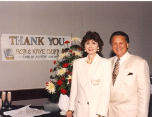 Ron & Kaye at the 40th Year in Ministry celebration
