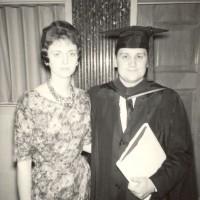 Ron & Kaye at Ron's Southwestern Baptist Theological Seminary graduation