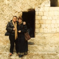 Ron & Kaye at the Empty Garden Tomb in Jerusalem