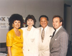 Ron & Kaye with George and Linda Harris at the 40th Year in Ministry celebration