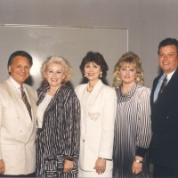 Ron & Kaye with Michael & Terri Catt and Marthe Beasley at the 40th Year in Ministry celebration