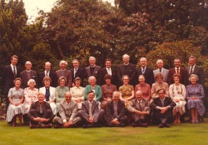 Ron & Kaye with the Keswick Convention speakers and personnel in England