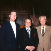 Ron with former pastors of MBBC