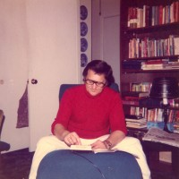 Ron studying while teaching at New Orleans Baptist Theological Seminary
