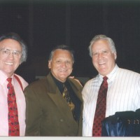 Ron with Dr. Harold O'Chester & Dr. John Bisagno