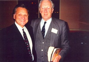 Ron with Dr. George Duncan from Glasgow, Scotland, at the Keswick Convention