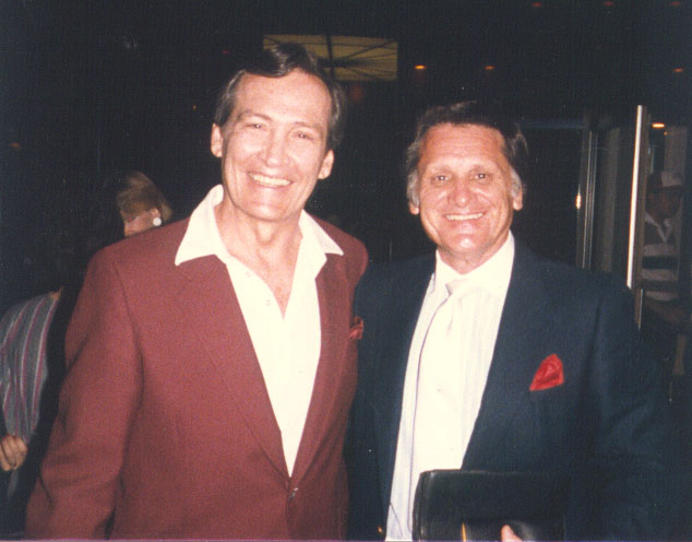 Ron with the late Dr  Adrian Rogers, pastor of Bellevue